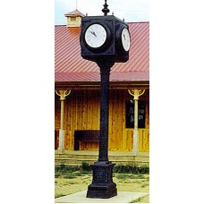 Large Four Sided Clock
